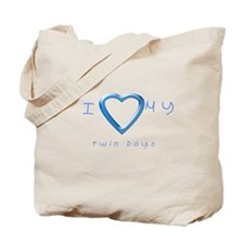 I love my twin boys Tote Bag