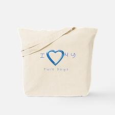 I love my twin boys Tote Bag