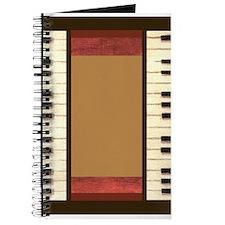 Piano Keys Frame Border by Kristie Hubler Journal