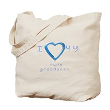 I love my twin grandsons Tote Bag