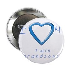 "I love my twin grandsons 2.25"" Button"