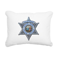 California Park Ranger Rectangular Canvas Pillow