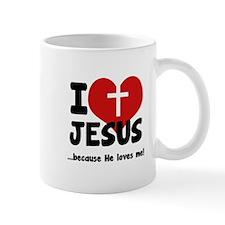 I Love Heart Jesus Mug