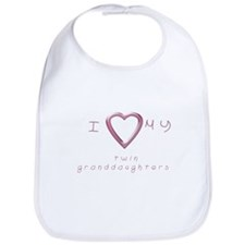 I love my twin granddaughters Bib