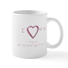 I love my twin granddaughters Mug