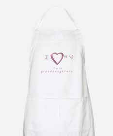 I love my twin granddaughters Apron