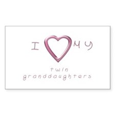 I love my twin granddaughters Decal