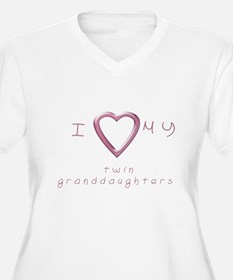 I love my twin granddaughters T-Shirt