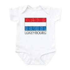 Luxembourg Flag Infant Bodysuit