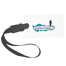 Captiva Island - Surf Design. Luggage Tag
