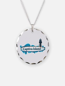 Captiva Island - Surf Design. Necklace