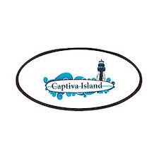 Captiva Island - Surf Design. Patches