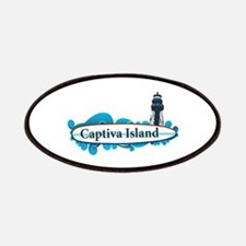 Captiva Island - Surf Design. Patches
