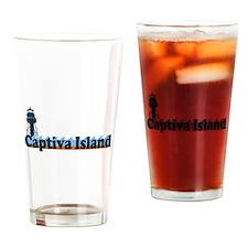 Captiva Island - Lighthouse Design. Drinking Glass