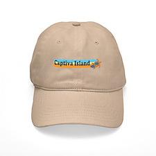 Baseball Captiva Island - Beach Design. Baseball Cap