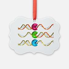 Viral RNA replication cycle, artwork - Ornament