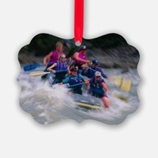 Whitewater rafting - Ornament