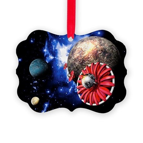 Alien SETI project - Picture Ornament