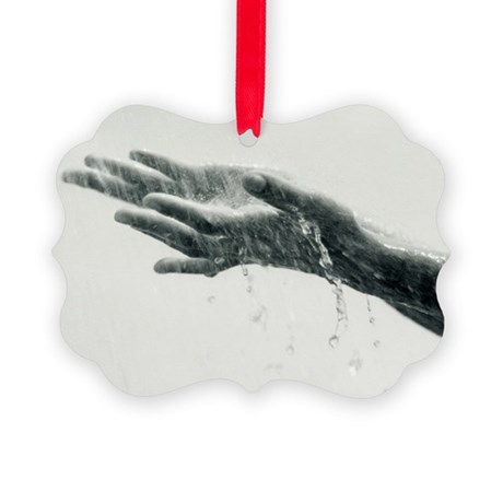Washing hands - Picture Ornament