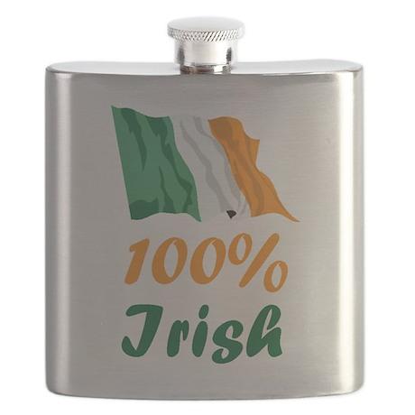 st paticks day irishFLAG.PNG Flask