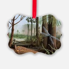 Carboniferous insects, artwork - Ornament