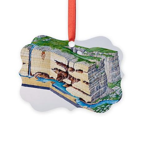 Karst landscape - Picture Ornament