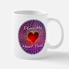 I Love My Heart Throb Mug