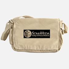 SCNM School Logo BW Messenger Bag