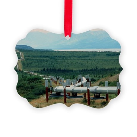 Part of the Trans-Alaskan Oil Pipeline - Picture O