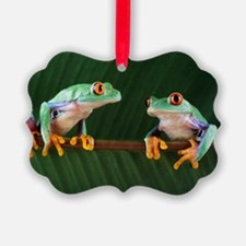 Red-eyed tree frogs - Ornament