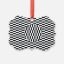Ouchi illusion - Ornament