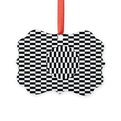 Ouchi illusion - Picture Ornament