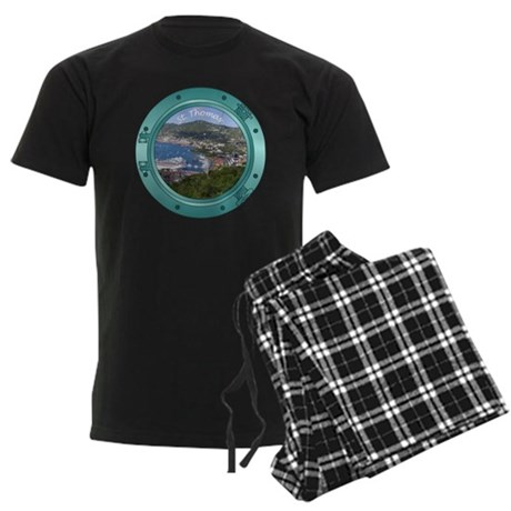 St Thomas Porthole Men's Dark Pajamas