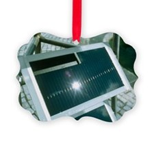 View of an amorphous solar cell - Ornament