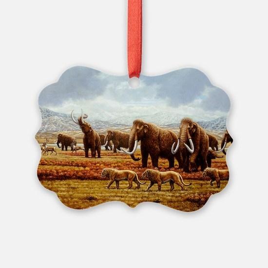 Woolly mammoths - Ornament