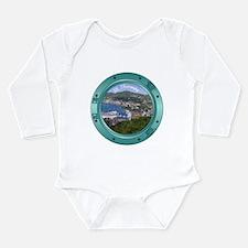 St Thomas Porthole Long Sleeve Infant Bodysuit