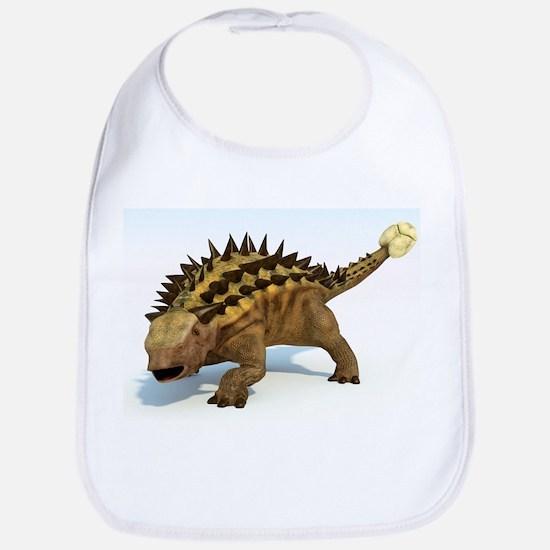 Ankylosaur, artwork - Bib