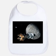 Apollo spacecraft at the Moon, artwork - Bib