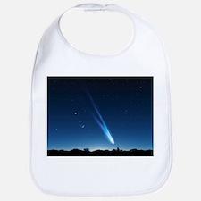 Comet in the night sky, artwork - Bib