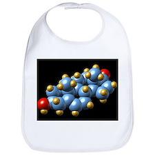 DHEA hormone, molecular model - Bib