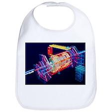 Computer art of ATLAS detector - Bib