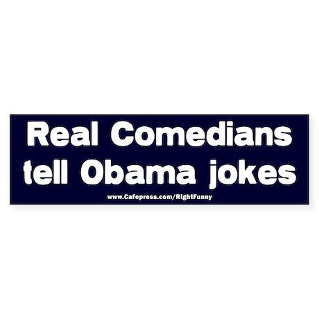 Real Comedians Sticker (Bumper)