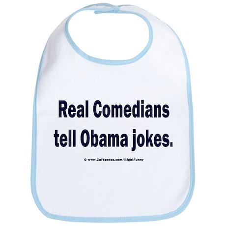 Real Comedians Bib