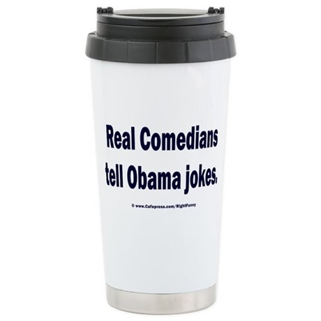 Real Comedians Stainless Steel Travel Mug