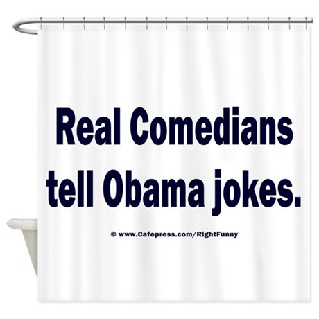 Real Comedians Shower Curtain
