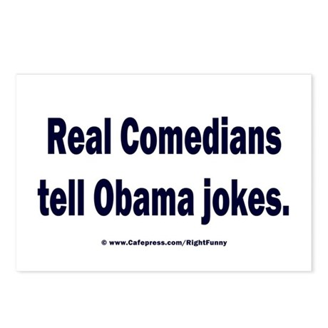 Real Comedians Postcards (Package of 8)