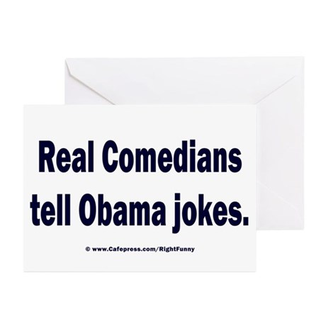 Real Comedians Greeting Cards (Pk of 20)