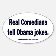 Real Comedians Sticker (Oval)
