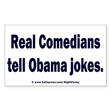 Real Comedians Sticker (Rectangle)