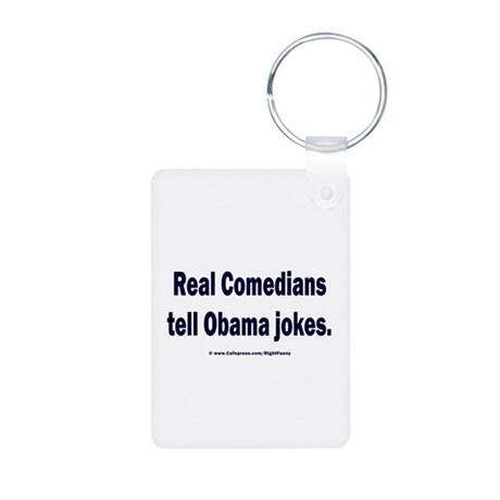 Real Comedians Aluminum Photo Keychain